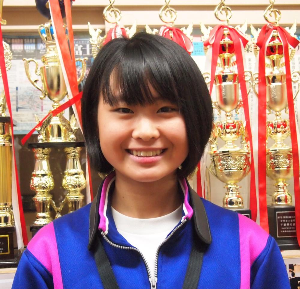 富田杏奈さん3年生
