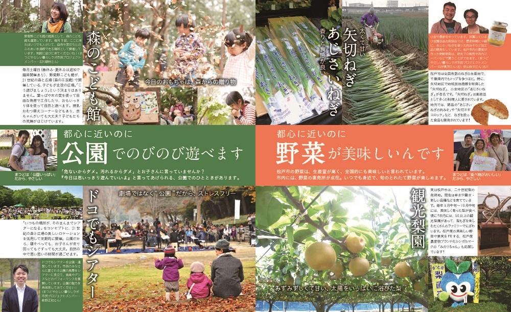 松戸やさしい暮らしガイド9・10ページ写真