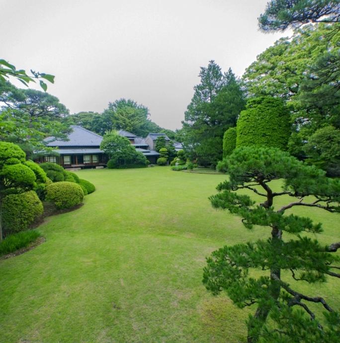 戸定邸庭園