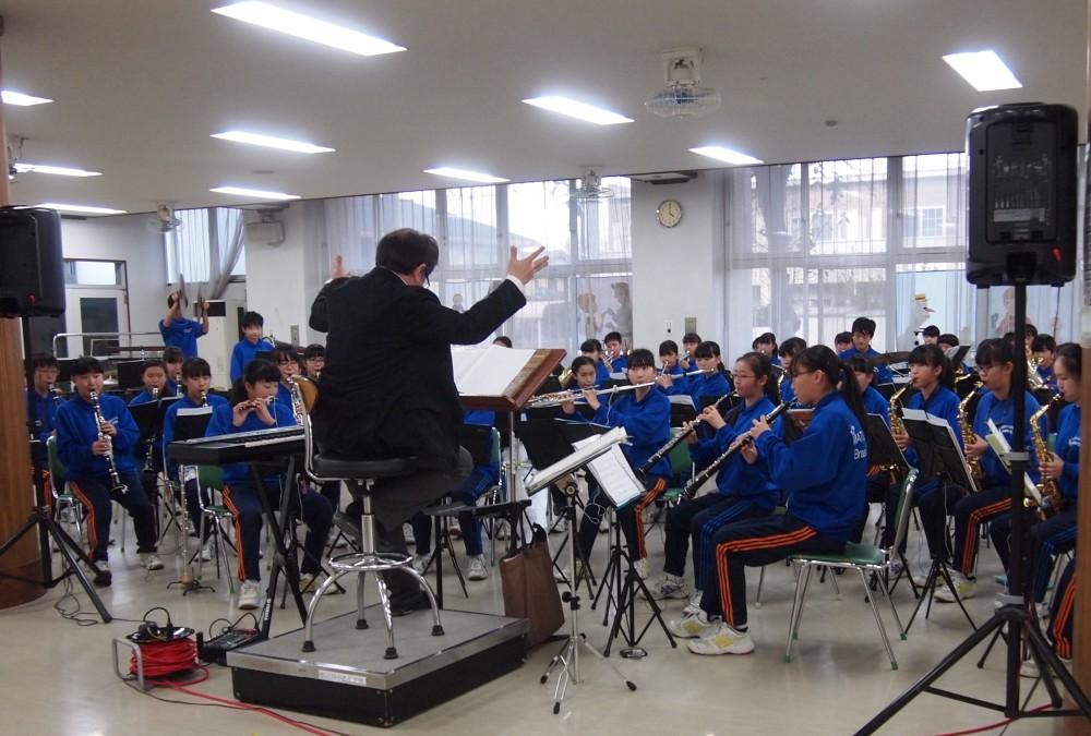 松戸第四練習風景